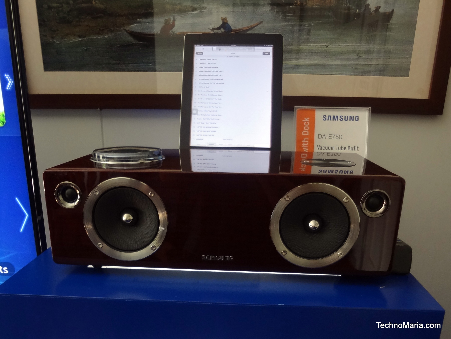 Samsung Box Type Audio Dock DA - E750