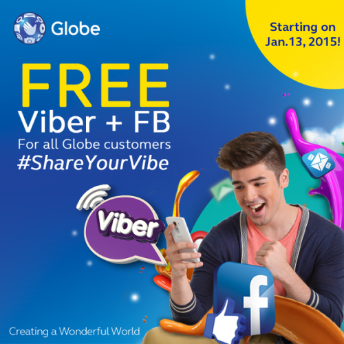 FreeFB and Viber Promo from Globe