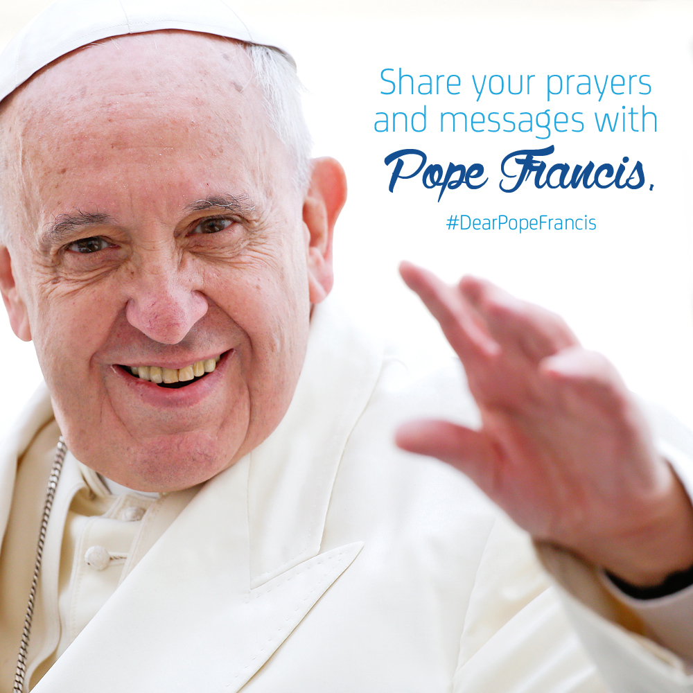 Smart and Twitter Partner for #DearPopeFrancis