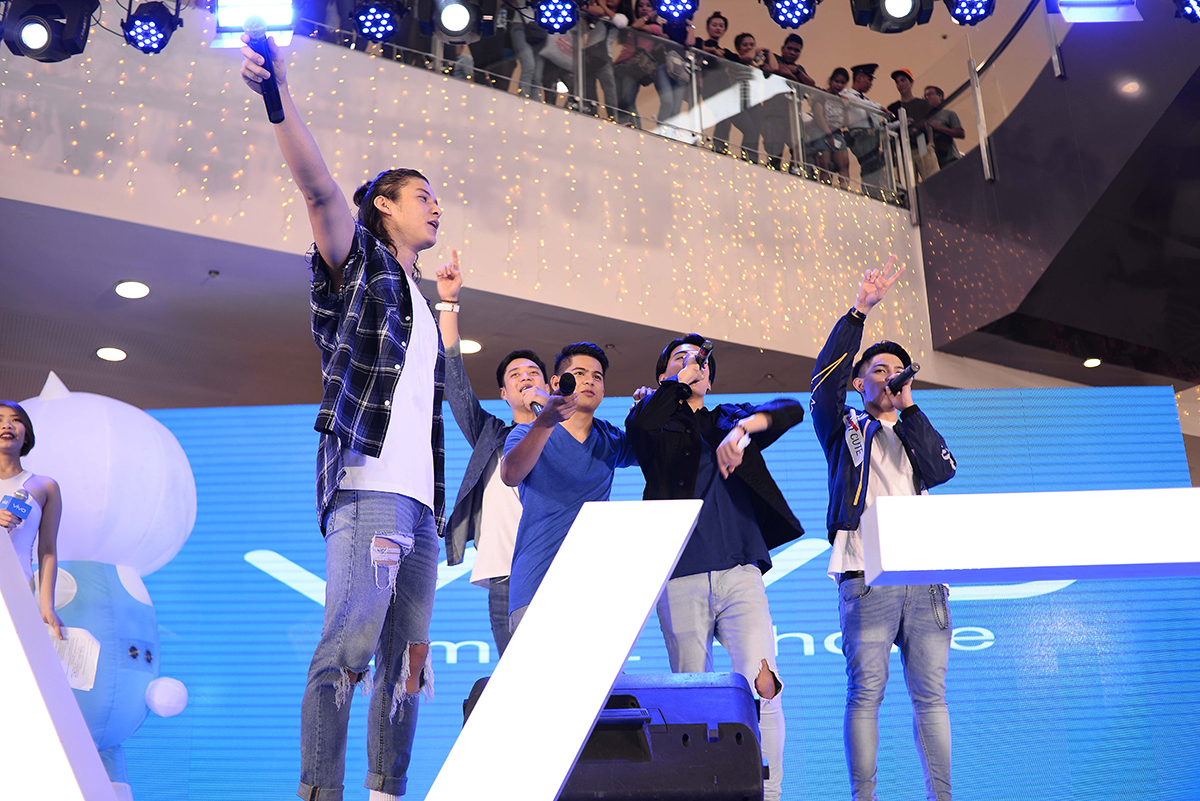 Vivo V7 Launch Events in the Philippines featuring Celebrity Influencers