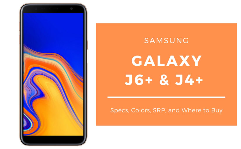 Samsung Galaxy J6+ and J4+ Now Available