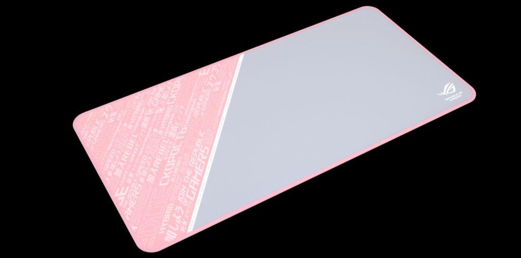 ROG PNK LTD Sheath pink gaming pad