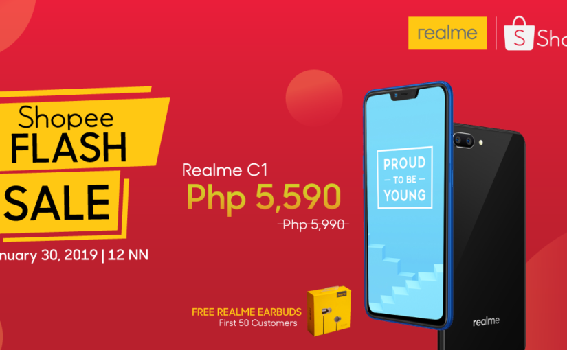 Realme Shopee Store Launches with Sale