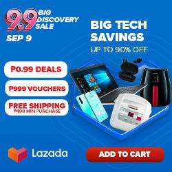 Lazada 9.9 Tech Discoveries