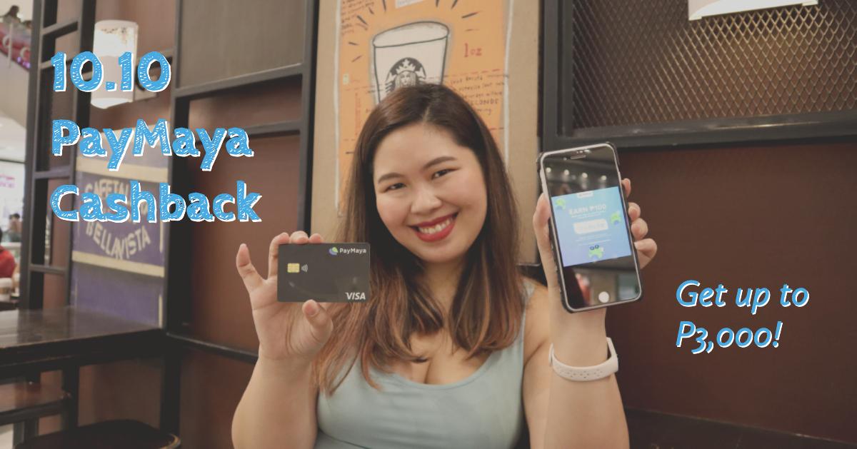 PayMaya Cashback October 2019