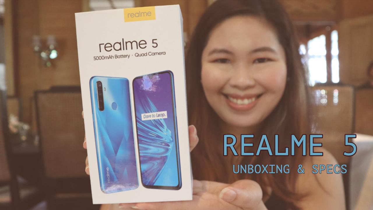 realme 5 unboxing & specs