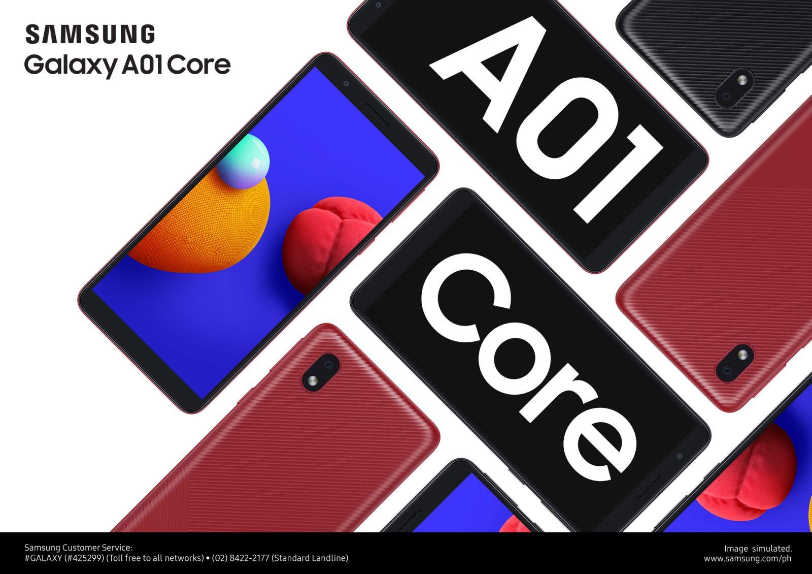 Samsung Galaxy A01 Core Specs