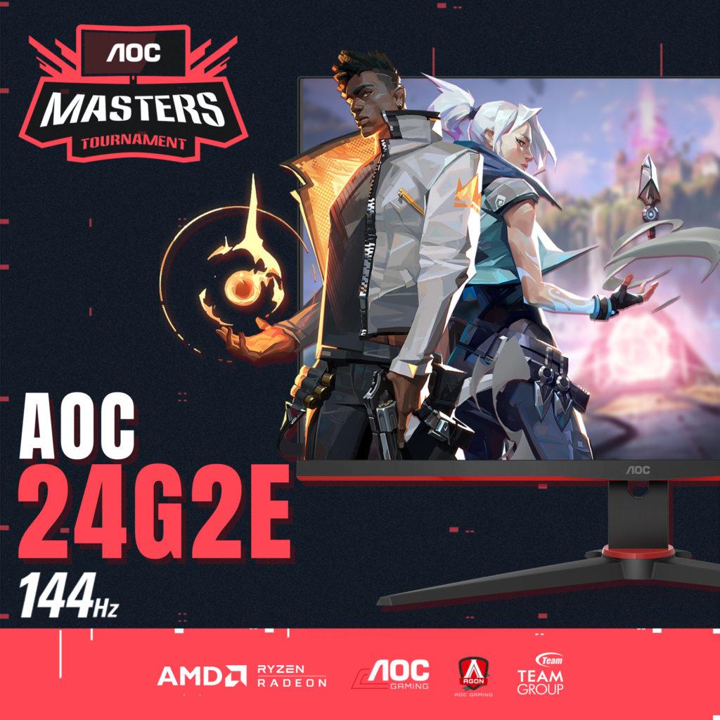 AOC Masters 2020 Valorant Tournament